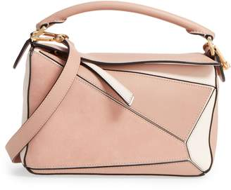 Loewe Small Puzzle Bicolor Leather Bag