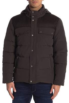 Cole Haan Down Trucker Jacket
