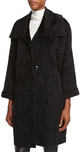 Caroline RoseCaroline Rose Playful Persian Faux-Fur Coat, Petite