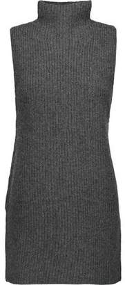 Theory Embree Ribbed Wool And Cashmere-Blend Turtleneck Sweater