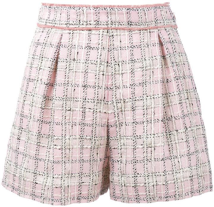 Miu MiuMiu Miu tweed shorts