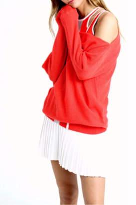 Minnie Rose Knit Tennis Skirt