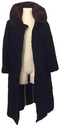 Astrakhan Non Signé / Unsigned Non Signe / Unsigned Black Coat for Women