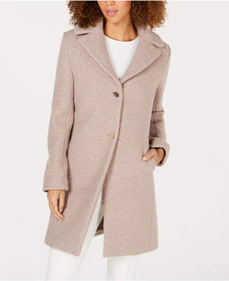 T Tahari Tessa Single-Breasted Coat