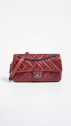 "Chanel What Goes Around Comes Around Easy 10"" Flap Bag"