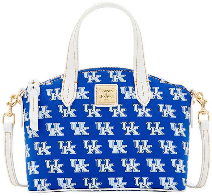 Dooney & Bourke Kentucky Wildcats Ruby Mini Satchel Crossbody - BLUE - STYLE