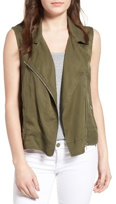 Women's Bb Dakota Bates Moto Vest $100 thestylecure.com
