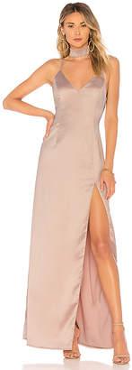 About Us Rylie Choker Maxi Dress