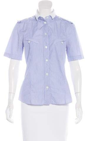 Dolce & Gabbana Dolce & Gabbana Short Sleeve Button-Up Top