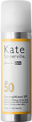 Kate Somerville UncompliKated SPF Soft Focus Makeup Setting Spray Broad Spectrum SPF 50 Sunscreen