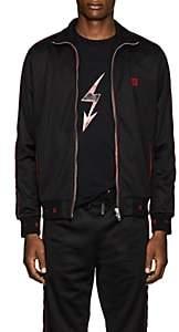 Givenchy Men's Logo Jersey Track Jacket - Black