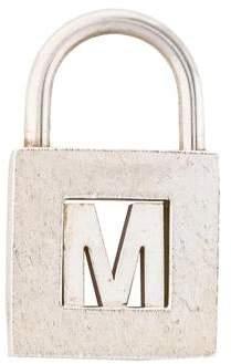 Tiffany & Co. 'M' Lock Charm