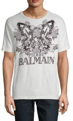 Pierre Balmain Printed Cotton Tee