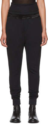 Ann Demeulemeester Black Slim Lounge Pants