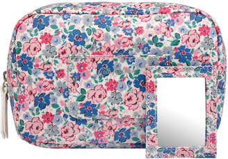 Cath Kidston Mews Ditsy Oval Cosmetic Bag with Mirror