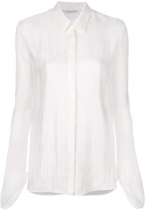 Neil Barrett crinkled design shirt