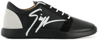 Giuseppe Zanotti side signed sneakers