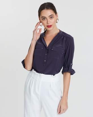 Wallis Roll Sleeve Shirt