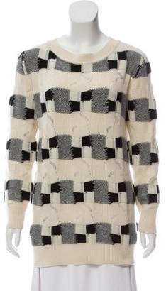 Akris Cashmere Open Knit Sweater