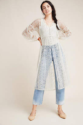 Maeve San-Michel Lace Duster