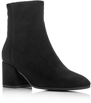 Aquatalia Charlee Weatherproof Block-Heel Booties