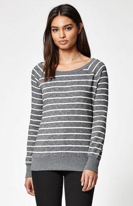 Element Live Fashion Keyhole Back Crew Neck Sweatshirt $55 thestylecure.com