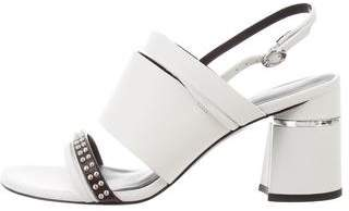 3.1 Phillip Lim Leather Drum Sandals