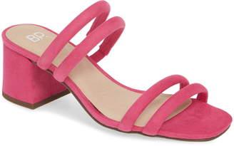 BP Lucia Block Heel Slide Sandal