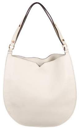 Valextra Weekend Leather Hobo