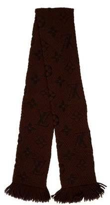 Louis Vuitton Logomania Wool Scarf