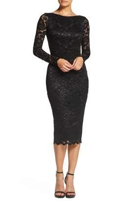 Dress the Population Emery Stretch Lace Body-Con Dress