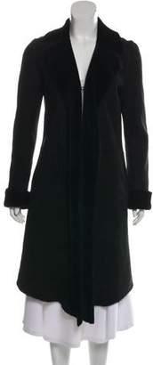 DKNY Lambskin Long Coat