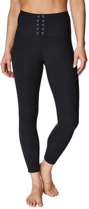 Betsey Johnson Women's High-Rise Lace-Up Leggings
