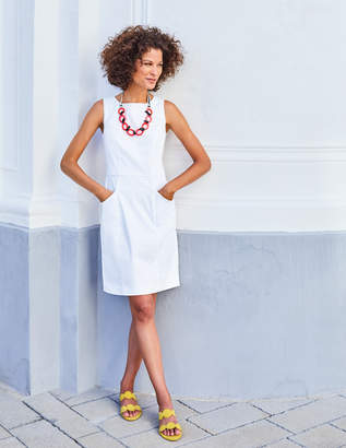Boden White Above Knee Dresses Shopstyle