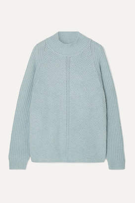 Le Kasha - Oversized Cashmere Turtleneck Sweater - Light blue