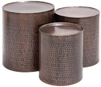 World Menagerie Atticus 3 Piece Coffee Table Set