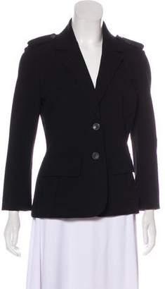 Diane von Furstenberg Structured Button-Up Jacket