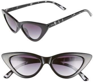 Sam Edelman 55mm Extreme Cat Eye Sunglasses