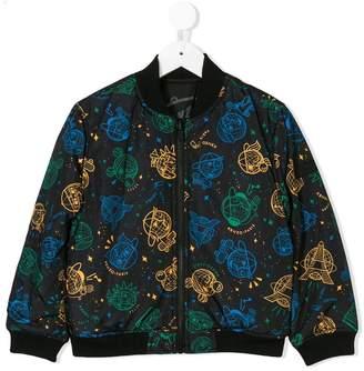 Kenzo (ケンゾー) - Kenzo Kids logo printed bomber jacket