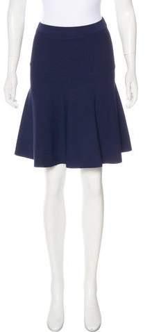 Michael Kors Flared Knit Skirt