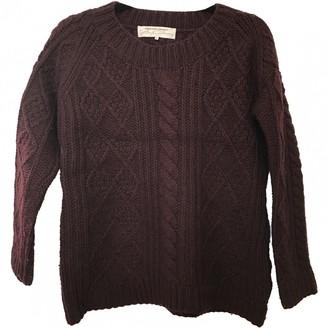 Gerard Darel Burgundy Wool Knitwear for Women