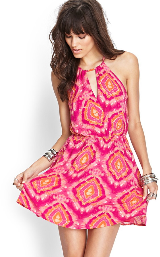 Forever 21 Tie-Dye Cami Dress