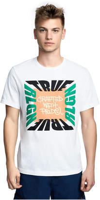 True Religion MENS COLOR BLOCK BRAND GRAPHIC TEE