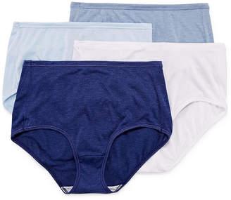 Hanes Cool Comfort Comfortsoft 4 Pair Brief Panty 47husb