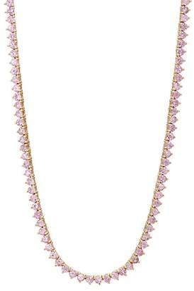 Jennifer Meyer Women's Pink Sapphire Tennis Necklace