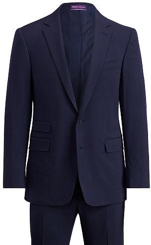 Ralph Lauren Purple LabelRalph Lauren Purple Label Slim Fit Wool Gabardine Suit