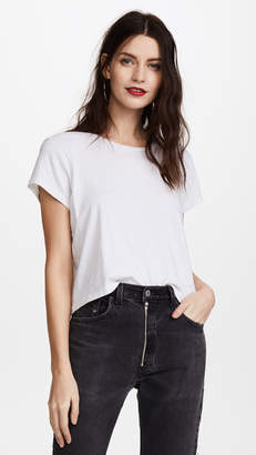 RE/DONE x Hanes 1950s Boxy Crop Tee