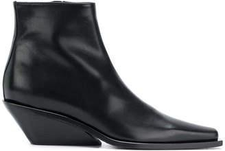Ann Demeulemeester asymmetric heel boot