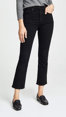Rag & Bone The Hana Cropped High Rise Jeans