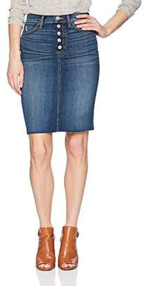Hudson Jeans Women's REMI HIGH Rise Denim Pencil Skirt